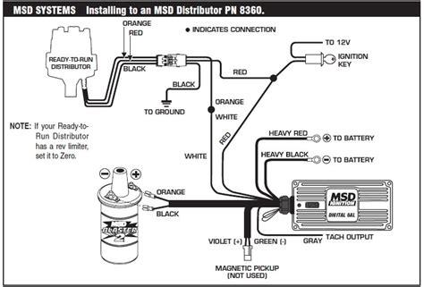msd 6al wiring diagram fuse box and wiring diagram