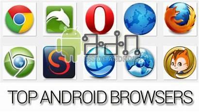Navegadores Android Browsers Tablet Navegador Melhores Mejores