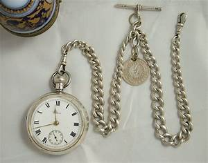 Antiques Atlas - An Antique Silver Waltham Pocket Watch ...