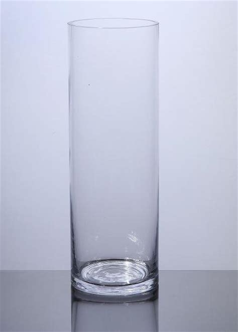 Cylinder Vases by Pc410 Cylinder Glass Vase 4 Quot X 10 Quot 12 P C Cylinder