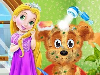Juegos de Bañar perros Rapunzel Jugar Gratis Ahora en