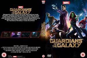 Guardians of the Galaxy DVD cover by Wario64I on DeviantArt