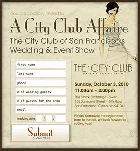 city club of san francisco wedding and event planning With wedding invitation printing san francisco