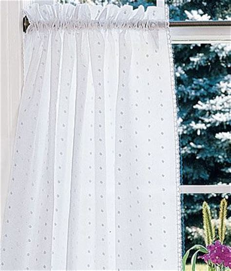 Dotted Swiss Kitchen Curtains by Pin By Sally Watt On Let S Stay Home