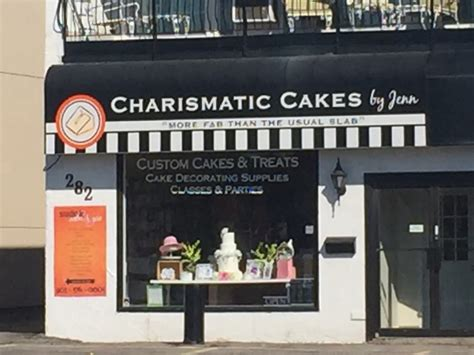 charismatic cakes  jenn courtice    king st