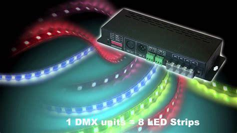 How to control LED strips over DMX? | LedStripStudio.com