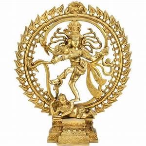 God of Dance Nataraj Shiva Brass Statue