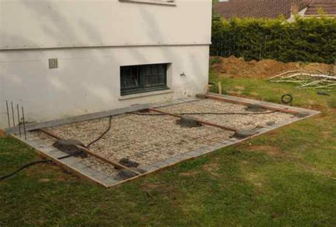 terrasse en bois sur dalle beton faire une terrasse en bois sur une dalle beton mzaol