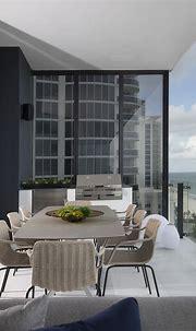 Luxe Waterfront Condo | Residential interior design, Condo ...