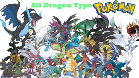 All Dragon Type Pokemon Includes Mega Evolution