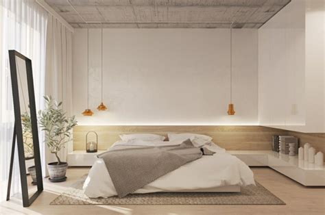 dormitorios minimalistas ideas sencillas  modernas   toque chic