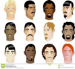 Different Races Face