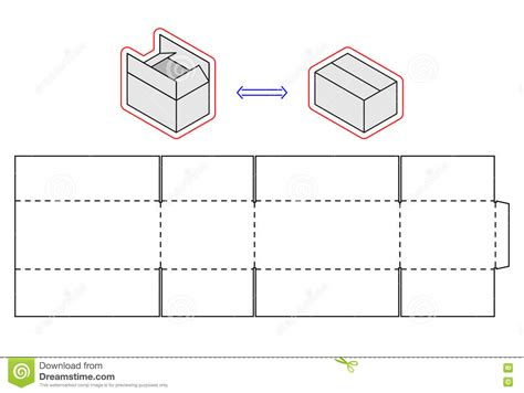 images  simple box template leseriailcom