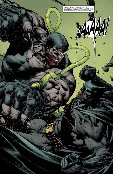 Batman Vs Bane Rebirth Comicnewbies