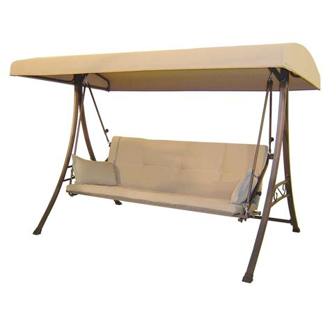 Patio Canopy Swing Home Depot by Porch Swing Porch Swings Patio Chairs Patio