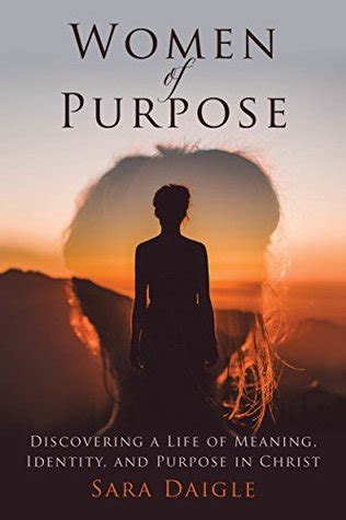 women  purpose discovering  life  meaning identity