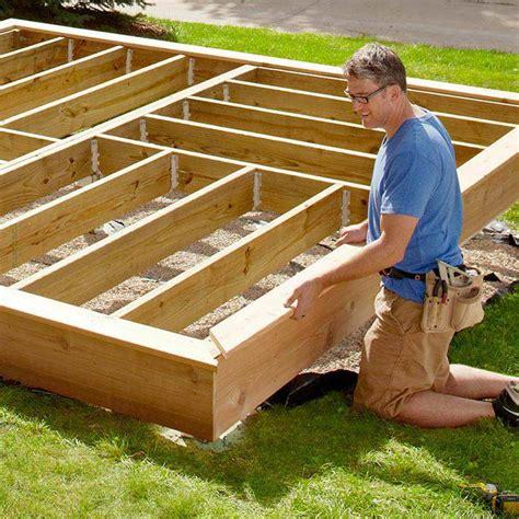 decking edging ideas platform deck
