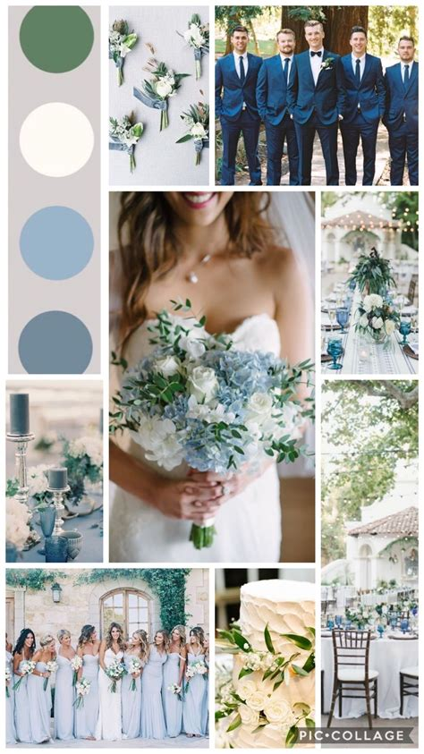 Ice Blue And Green Spring Wedding 20182019 Wedding