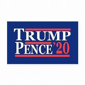 trump pence 2020 rectangle car magnet by cpshirts With kitchen colors with white cabinets with trump 2020 sticker
