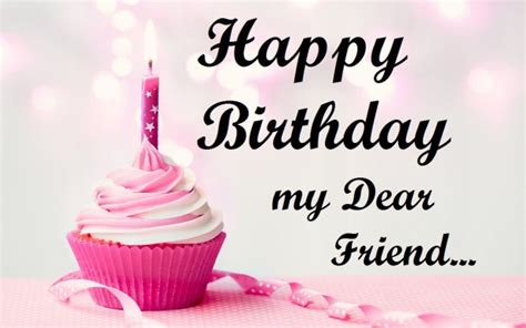 Happy Birthday My Friend Images & Pictures 2017