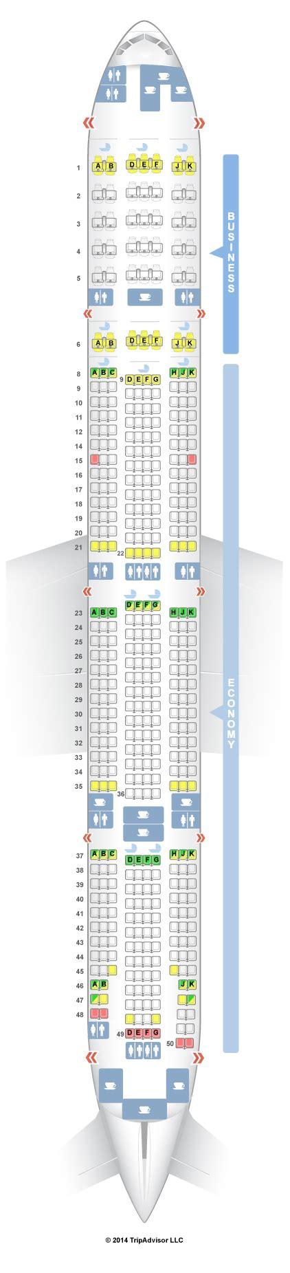 plan si鑒es boeing 777 300er air seatguru seat map emirates boeing 777 300er 77w two class