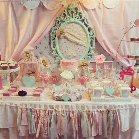 shabby chic themed 40 best shabby chic party images on pinterest birthdays petit fours and wedding parties
