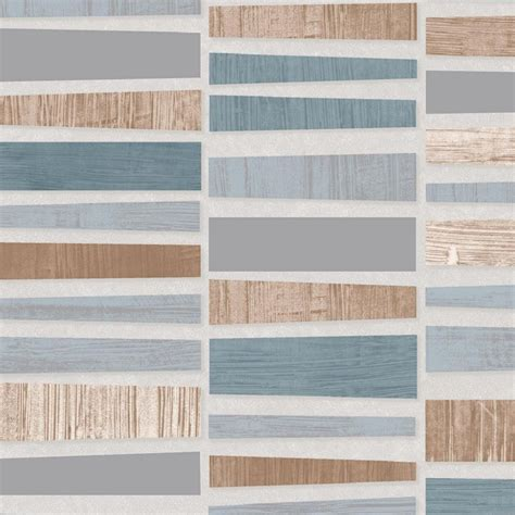 bn wallcoverings plaza mosaic metallic lacquered tile