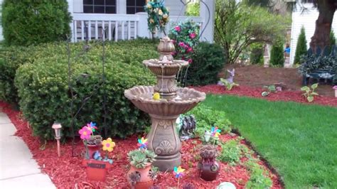 front yard fountain youtube