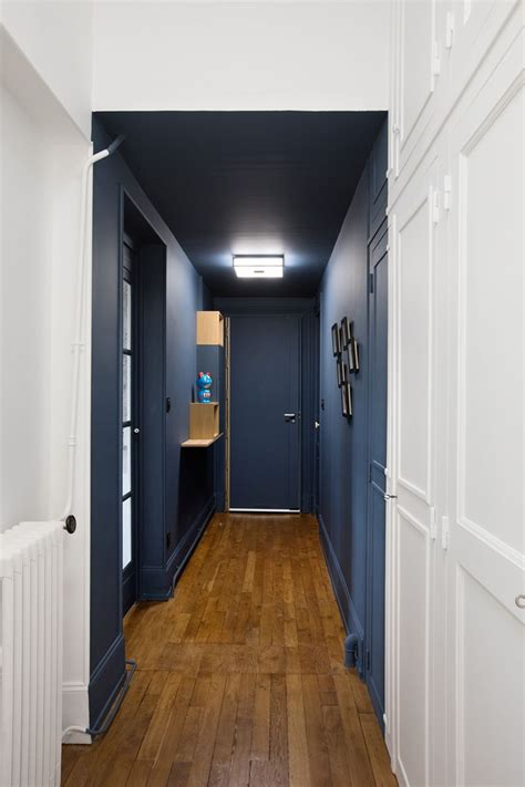 place barbe   olivenoire decorer  couloir idee