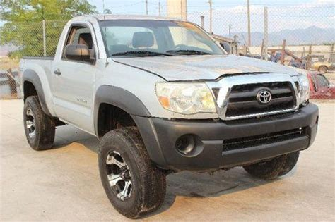 Toyota Tacoma 2006 For Sale by Sell Used 2006 Toyota Tacoma Regular Cab 4wd Damaged Bill