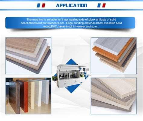 woodworking machinery automatic furniture edge banding machine edge bander  particle board