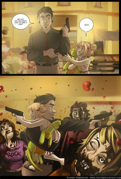 train zombie apocalypse anime zombies guns handguns reason hunter another hand