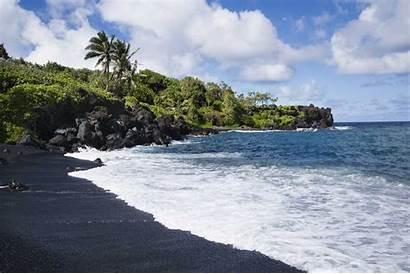 Sand Beaches Beach Maui Rainbow Colored