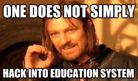Meme Hack - cloud computing hacking into the indian education system reveals score tering