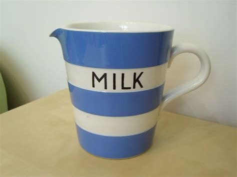 milk pitcher 1259 blue 177 best images about tg green blue white cornishware on