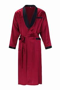 smooth silk robes for men and women With robe de chambre pour homme