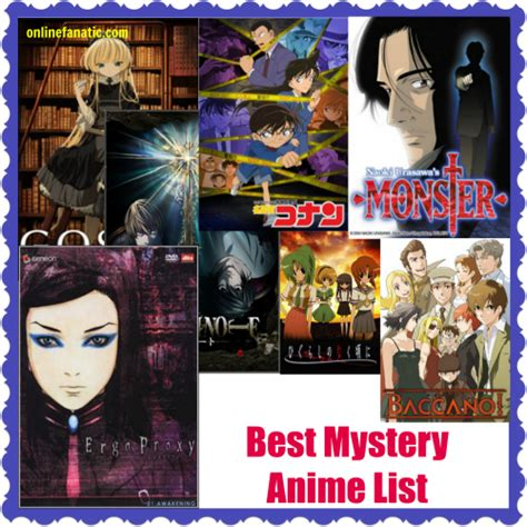 list anime genre detective top 10 best mystery anime series list recommendations