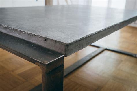 beton tisch selber machen ghostbastlers tischplatte aus beton