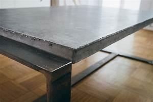 Ghostbastlers tischplatte aus beton for Tischplatte aus beton