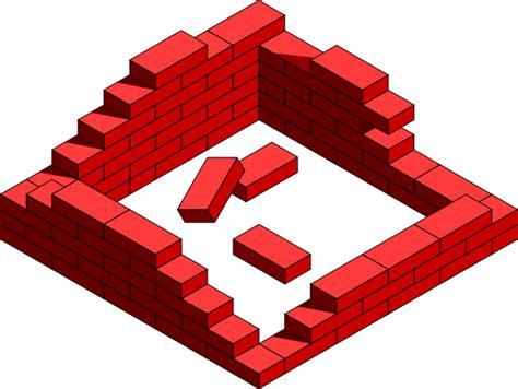 Brick Clipart Brick Walls Clip At Clker Vector Clip