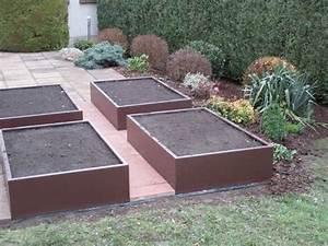 Bac Bois Potager : comment faire un potager en carre resistant en fer metal aluminium inox zing jardin ~ Melissatoandfro.com Idées de Décoration