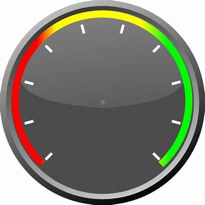 Speedometer Dashboard Gauge Clipart Clip Gauges Cliparts