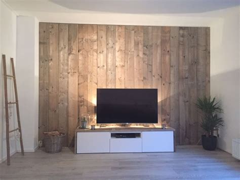 Wand Hinter Fernseher by Tv Wall Tv Wall In 2019 Holzwand Wohnzimmer Tv Wand