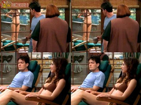 Nackte Marin Hinkle In Two And A Half Men