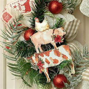 9, U0026quot, Stacked, Farm, Animal, Christmas, Ornament, Osw186946