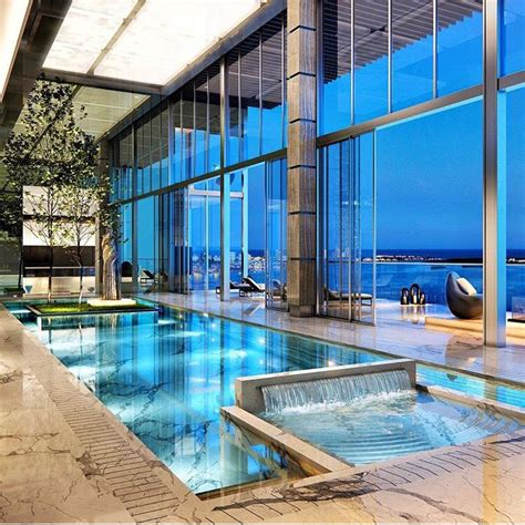 Penthouse Pool In Miami Brickell Photo By @dpatron