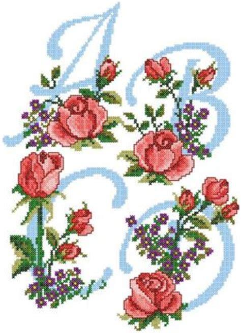 advanced embroidery designs rose alphabet