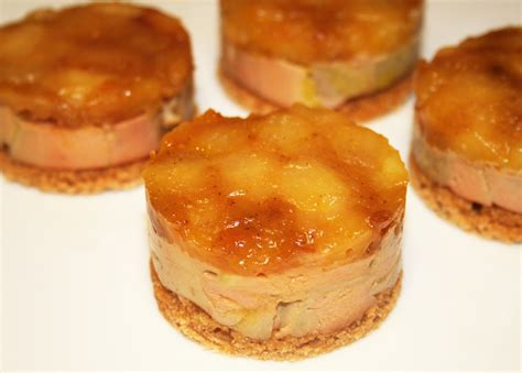 cuisine bernard la cuisine de bernard mini quot tatins quot de foie gras