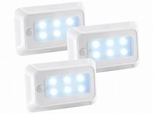 Led Beleuchtung Mit Batterie : luminea led bewegungsmelder led nachtlicht mit bewegungs d mmerungs sensor batterie 3er ~ Whattoseeinmadrid.com Haus und Dekorationen