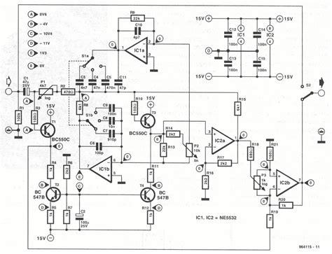 of diy schematics tone and eqs
